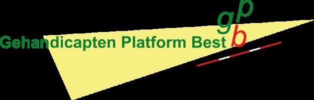 Het GPBest logo van het Gehandicapten Platform Best